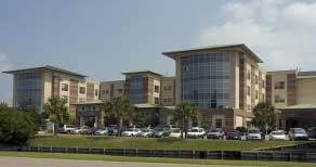 Waccamaw Community Hospital from a distance